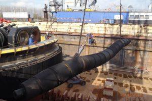 Dry dock repairs